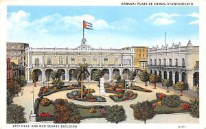 Habana Cuba, Republica de Cuba Plaza de Armas, Ayuntamiento Habana Plaza de A...