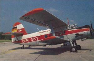 DDR-SKY INTERFLUG PZL-MIELEC AN-2