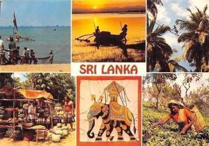 Sri Lanka Ceylon, Fishermen, Sundown, Hill Country Toddy Tapper Vegetable Stall