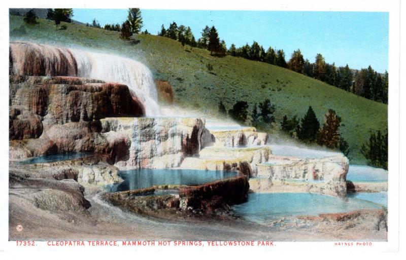 Haynes, Red Letter Series, Yellowstone National Park