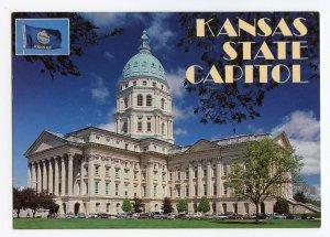 Postcard Kansas State Capitol Topeka Kansas ©1992 Continental View Card