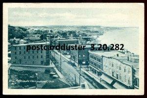 282 - CHICOUTIMI Quebec Postcard 1932 Birds Eye View