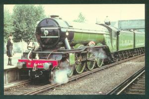 London and North Eastern Railway LNER Flying Scotsman UK Train Railroad Postcard