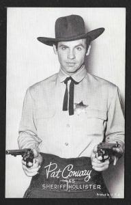 ARCADE CARD Cowboy Entertainer Pat Conway