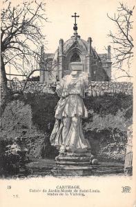 Tunisia Carthage Entree du Jardin Musee de Saint Louis Statue de la Victoire