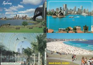 Sydney Darling Harbour Bondi Beach Opera House 4x Postcard s