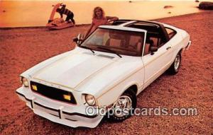 Postcard Post Card 1978 Mustang II 2+2 3 Door