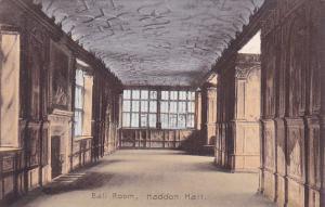 England Bakewell Haddon Hall Ball Room
