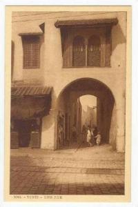 TUNIS.- Une Rue 1910-20s