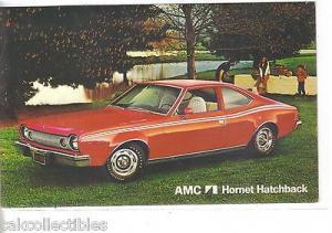 AMC Hornet Hatchback-Vintage Post Card