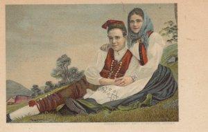 Couple , Sweden , 1901-07