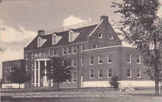 Arkansas Russellville Arkansas Polythechnic College Caraway Hall Womens Dormi...