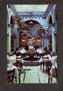 FL The Colonial Restaurant Interior View Ybor City Tampa Florida Postcard Latin