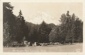 RP: LONGMIRE , Washington , 1953 ; Mt Rainier view ; ELLIS 188