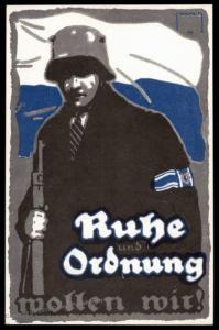 Germany Munich Einwohnerwehr Freikorps Bavaria 1920 1st Shooting Festival 88362