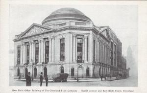 CLEVELAND, Ohio, 1910s; New Main Office Bldg, Cleveland Trust Company