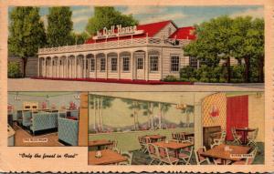 Utah Salt Lake City The Doll House Restaurant 1955 Curteich