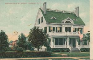 Home of Pharmacist H B Guilford of Rochester, New York - pm 1909 - DB