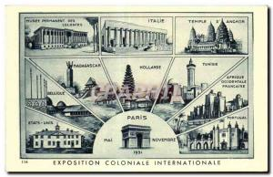 Old Postcard International Colonial Exposition