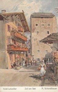ZELL AM SEE , Austria, 1900-10s; Hotel Lebzelter