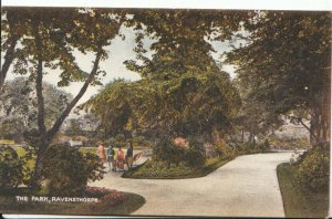Northamptonshire Postcard - The Park - Ravensthorpe - Ref 18693A
