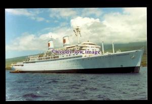 SIM0394 - American Hawaii Cruises Liner , Independence , built 1950 - postcard
