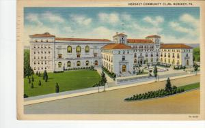 Hershey Community Club, HERSHEY, Pennsylvania, PU-1938