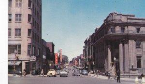 SHERBROOKE, Quebec, Canada, 1950-60s; Wellington Street