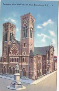 Rhode Island Providence Cathedral Of St Peter and St Paul