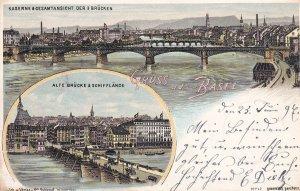 GRUSS aus BASEL , Switzerland , PU-1897