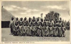 African Nude Nudes Postcard Post Card  Tanganyika Territory