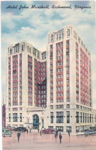 Hotel John Marshall in the Heart of Richmond VA, Virginia - Linen