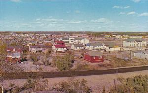 Canada General View with St Patrick's Separate School Yellowknife Northwest T...