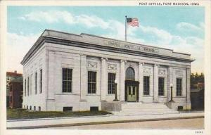 Iowa Fort Madison Post Office