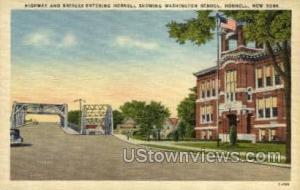 Washington School Hornell NY Unused
