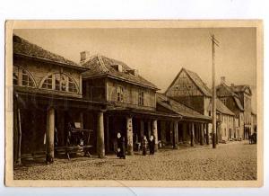 190781 WWI LATVIA MITAU Jelgava Vintage german military RPPC