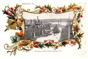 Halifax  Entrance to Navy Yard,  Hebb series 793