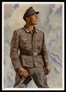 3rd Reich Germany Luftwaffe Artist Card Propaganda Card 91286