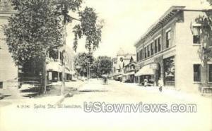 Spring Str. Williamstown MA Unused