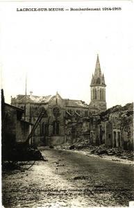 CPA  Lacroix-sur-Meuse - Bombardement 1914-1915     (178122)
