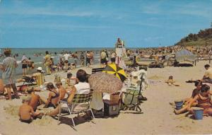 Beach , Indiana Dunes State Park , CHESTERTON , Indiana , 50-60s #2