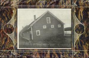 Building - 1909 Ludlow ME Cancel Postcard