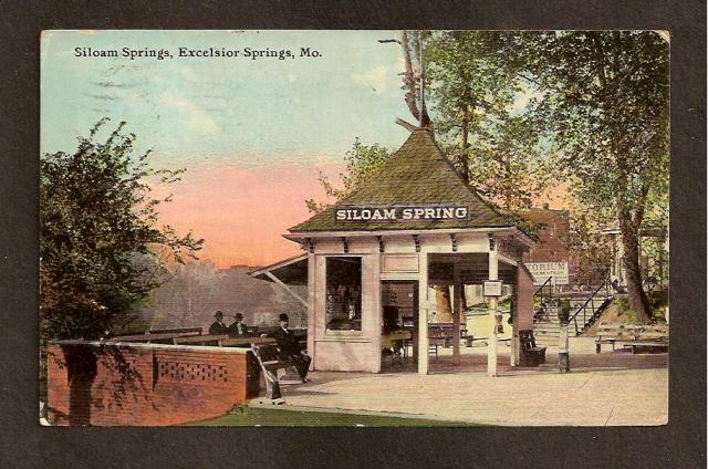 POSTCARD-VINTAGE -Siloam Springs, Excelsior Springs, MO 1911