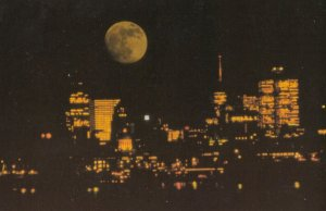 MONTREAL , Quebec , Canada , 1984 ; At Night