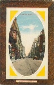 Turkey Istanbul Pera street postcard