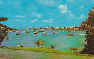 Hamilton Harbour From Red Hole In Paget Bermuda