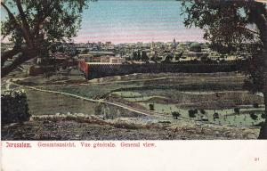 JERUSALEM , Israel , 00-10s ; General View