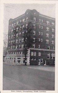 South Carolina Orangeburg Hotel Eutaw
