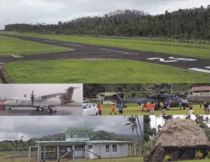 Bureta Airport , LEVUKE , Fiji , Lomeivity Province, Ovalau Island, 1980s