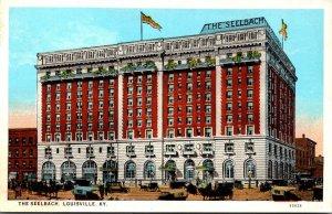 Kentucky Louisville The Seelbach Hotel Curteich